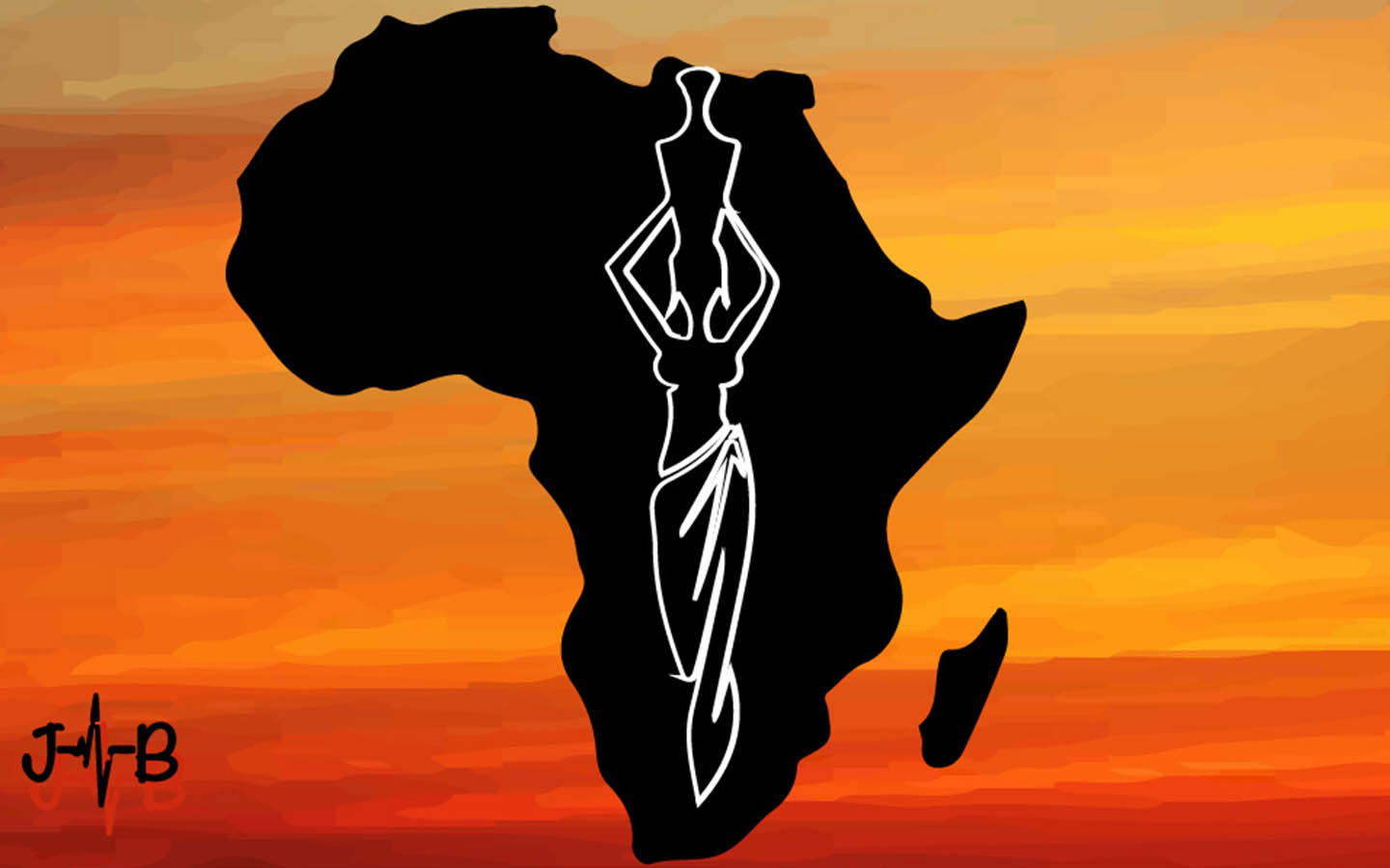 Mama Africa - She caries her load with pride.