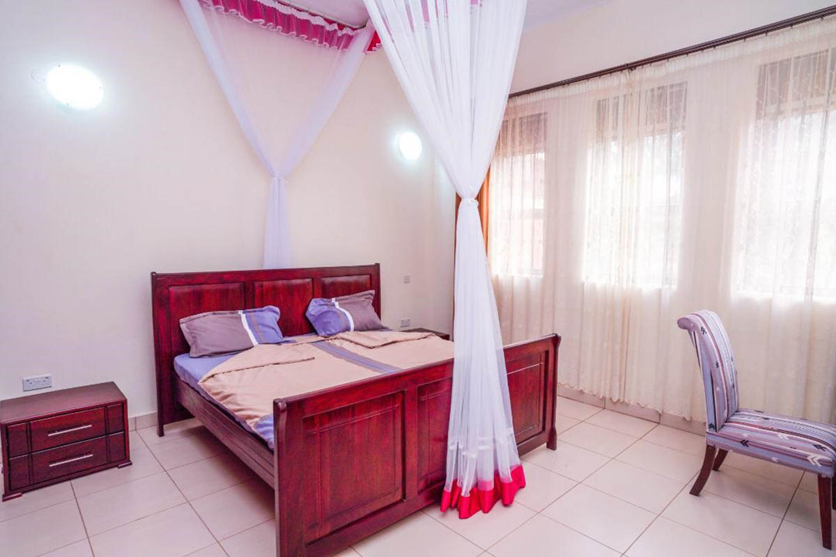 Bed Room - interior of The Apartment for Renting in Uganda - JNB