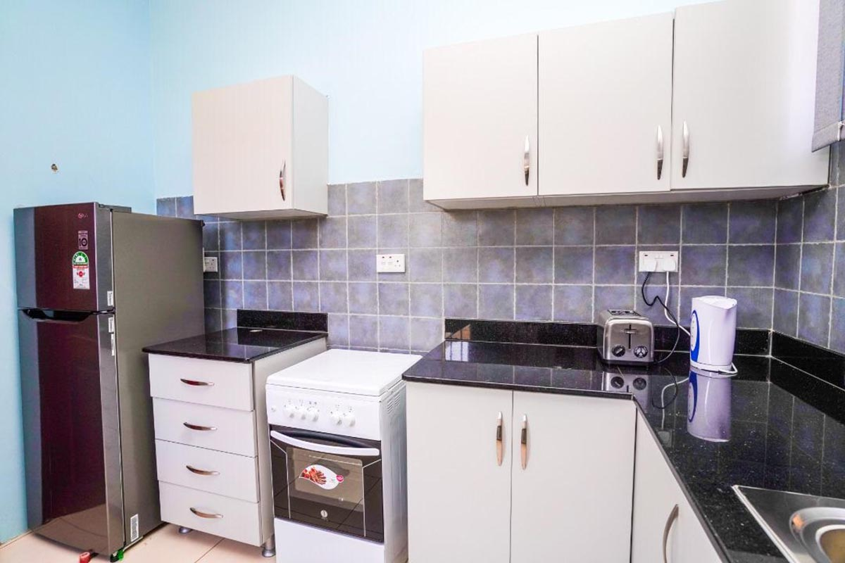 Kitchen In Inside The Apartment for Renting,Fridge-freezers-cooke