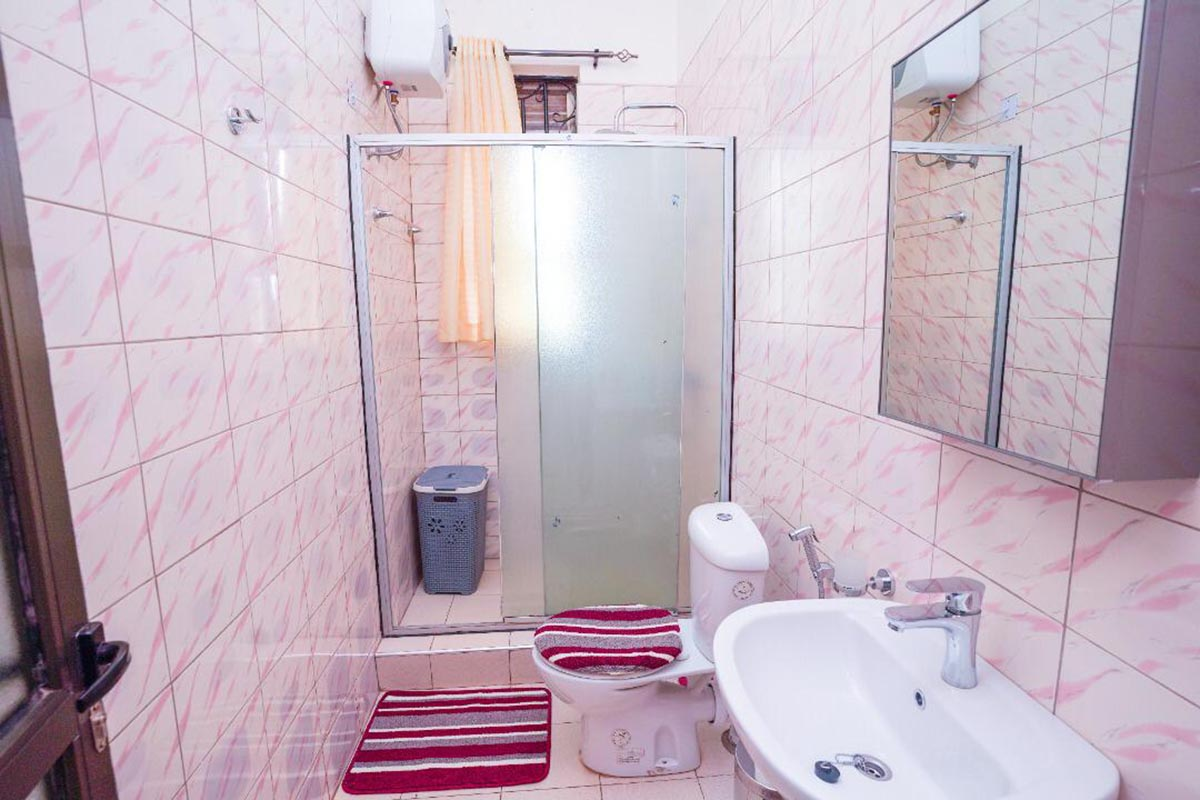 Clean Large wash Rooms - interior of The Apartment for Renting i